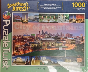 Something's Amiss 1000 Piece Skyline Puzzle