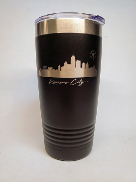 Thermal Etched Stainless Steel Travel Mug